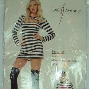 Leg Avenue prisoner costumes Adult XL (D-87)